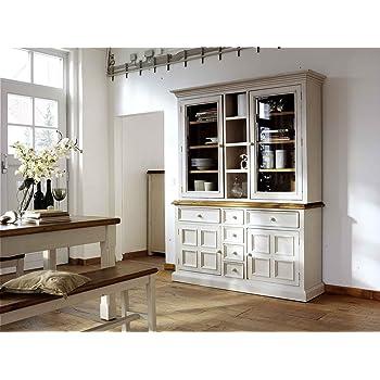 Lifestyle4living Buffet Buffetschrank Landhaus Anrichte