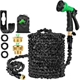 HOSE-PRO Patent Expandable Garden Hose Pipe 100ft with 8 Function, Retractable Water Hosepipe Flexible Expanding Hosepipes fo