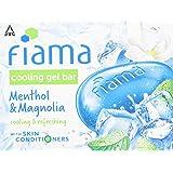 Fiama Cooling Gel Bathing Bar Menthol & Magnolia 125g x 3