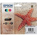 Epson C13T03U64010 Approprié pour XP-2100/2105/3100/3105/4100/4105 Encre Multipack 603 - Noir/Cyan/Magenta-Jaune - 10,6 ML