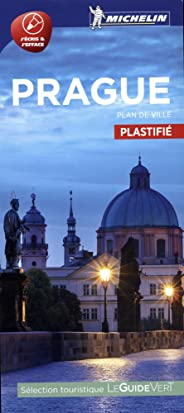 Plan Prague Plastifié Michelin