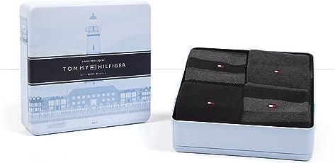 4 Paar Tommy Hilfiger Herren Socken Limited Edition CABIN BOX in edler Geschenkbox