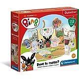 Clementoni - 16284 - Sapientino - Gioco Bing - Dove Lo metto? - giochi tessere a incastro - gioco educativo 2 anni - material