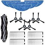N\C Yooria Kit d'accessoires pour robot aspirateur Hosome V701S 16 pièces/lot