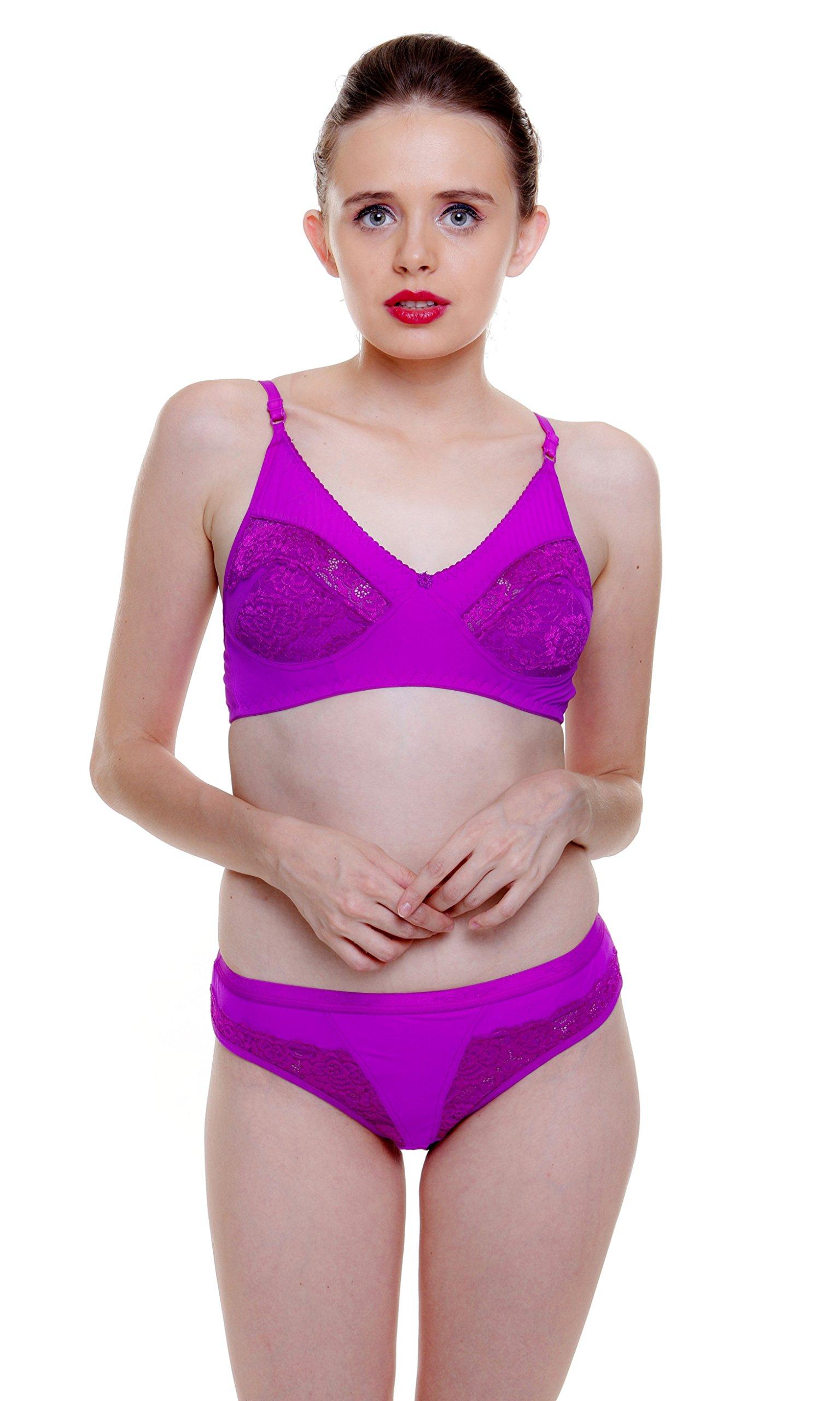 40f846c415a Fashion Comfortz Women s Lace Bra   Panty Set – Buy Bestow