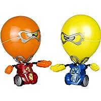 Silverlit- Ycoo by Pack 2 Robots Kombat Ballon Radiocommandé (Rouge/Bleu) 14 cm-Explose la tête de Ton adversaire Jouet…