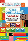 Oswaal CBSE One for All, Mathematics, Class 10 (Reduced Syllabus) (For 2021 Exam)