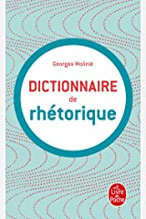 Dictionnaire de rhétorique Poche