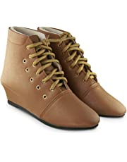BEPS Footwear Collection -Synthetic Ankle Boot for Women & Girl