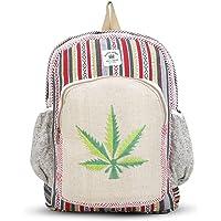 Shanvi Handicraft New Himalayan Hemp Laptop Bag Backpack/School & Traveler Bag (Multicolor)