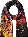 Desigual foulards 17wawfh0 winter stripes 1 noir