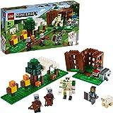 LEGO Minecraft L'Avamposto del Saccheggiatore, Set da Costruzione, Avventura del Golem di Ferro, Giocattolo per Bambini dai 7