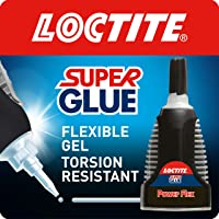 Loctite Super Glue Power Flex Control, Flexible Super Glue Gel, Superglue with Non-Drip…