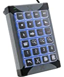 P.I. Engineering X-Keys Desktop USB 24 Keys, XK-24-USB-R