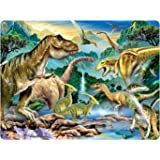 2 Wechselbilder in einer Postkarte EIN T-REX-DINO WIRD ZUM LEBEN ERWECKT 10063// Wechselbild Dinosaurier Lustige Lentikular-Postkarte mit Wackelbild nr