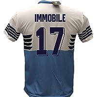 DND di D'Andolfo Ciro Maglia Calcio Lazio Immobile 17 Replica Autorizzata 2018-2019 Bambino (Taglie 6 8 10 12) Adulto (S…