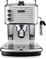 De'Longhi Scultura Pump Espresso Coffee Machine - White, ECZ 351.W