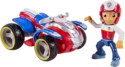 Paw Patrol Nickelodeon, Paw Patrol - Ryder'S Rescue Atv, Vechicle And Figure