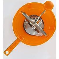Fackelmann 27640, moulin à légumes, Acier Inoxydable, Plastique, Orange, Jaune, Vert, 24 cm, 24cm