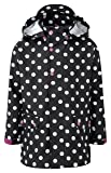 Kozi Kidz Regnkappa Mädchen Regenjacke schwarz schwarz 100 cm