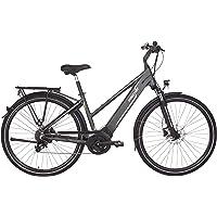 FISCHER Damen - E-Bike Trekking VIATOR 5.0i, grau matt, 28 Zoll, RH 44 oder 49 cm, Brose Drive C Mittelmotor 50 Nm, 36 V…