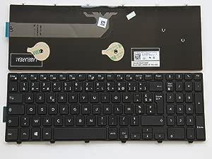 Junweier Clavier Français AZERTY pour Dell Inspiron 15 3000
