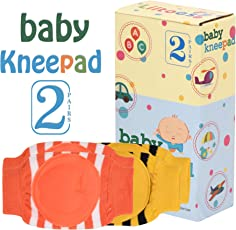 Baby Safety Kneepad 2 Pairs (Yellow & Orange)