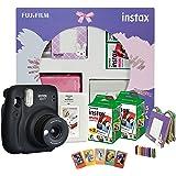 Fujifilm Instax Mini 11 Instant Camera (Charcoal Grey) Happiness Box with 40 Shots