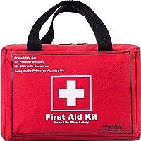 Songwin Sac de Trousse de Premiers Secours de 130 pièces-Comprend Une Couverture d'urgence,Bandage,Ciseaux pour la…