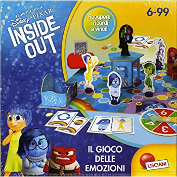 Lisciani 52806 - Inside Out Emotions Game