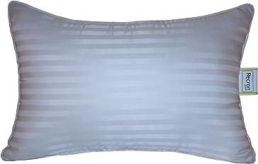 """Recron Certified Joy Comfort Cotton Pillow, 61""""cm x 40""""cm, White"""