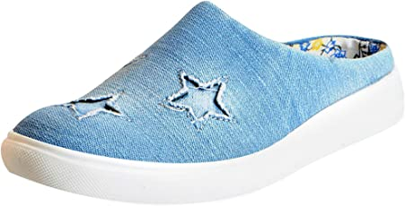 Fausto Women's Canvas Slip On Shoes