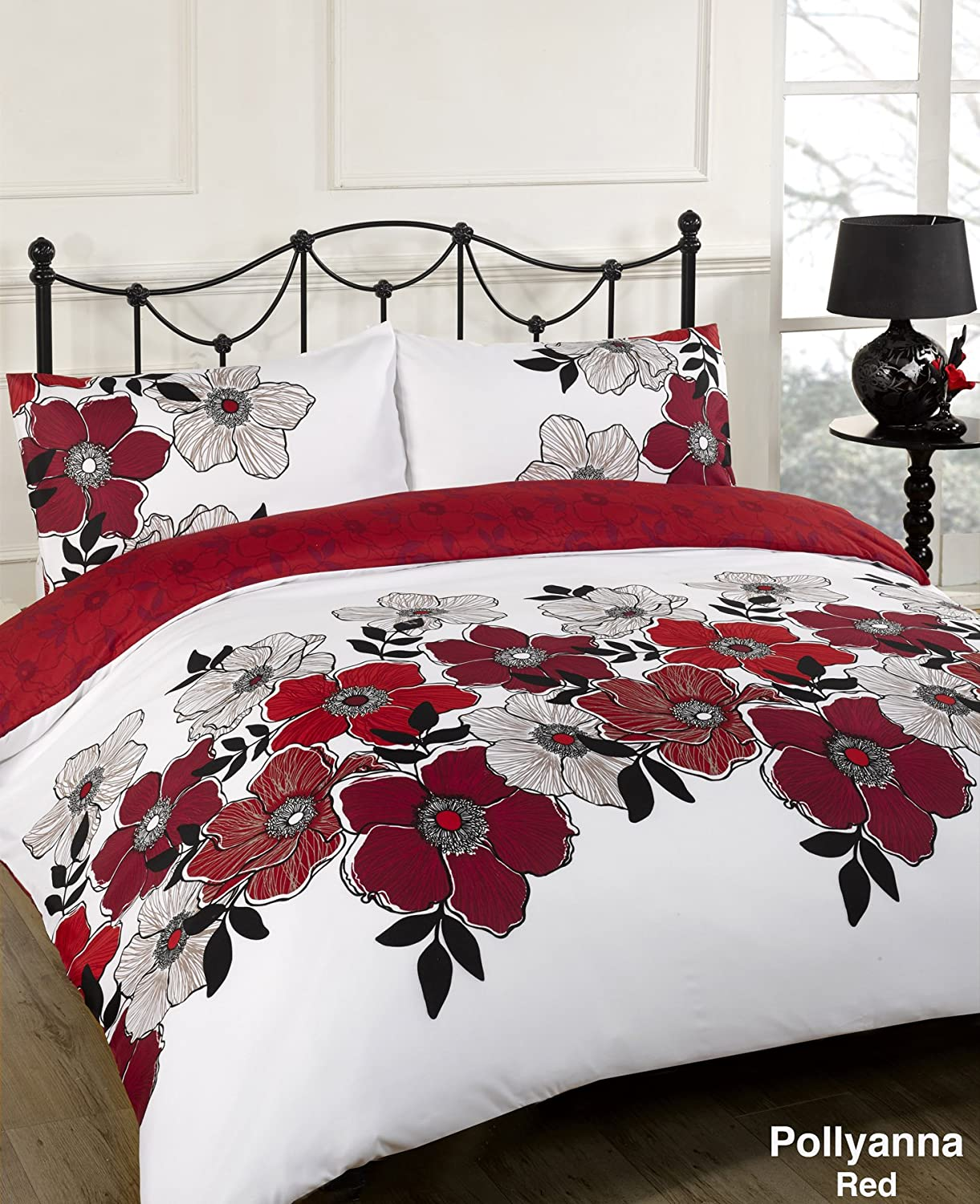 Red And Black Duvet Covers King Size Sweetgalas
