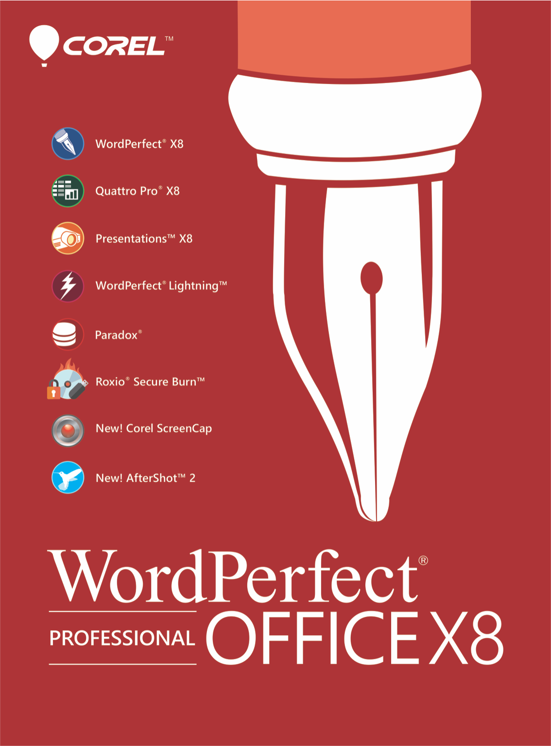 WordPerfect Office X8 Professional [Download]