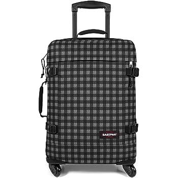 Eastpak Trans4 S Suitcase, 80 cm, 44 L, Checksange Black