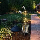 Comie tuinverlichting, kunstverlichting, decoratie, waterkraan, plant, gazon, outdoor, gieter, lichten, ster, type douche, ga