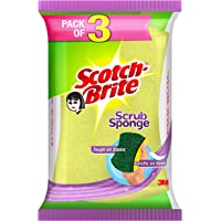 Scotch-Brite Scotch Brite Scrub Sponge - Pack of 3