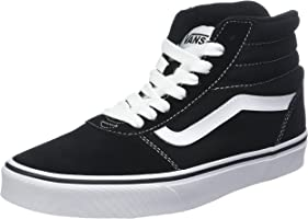 Vans Ward Hi Suede/Canvas, Sneaker a Collo Alto Uomo