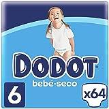 Dodot Pañales con Canales de Aire Bebé-Seco para Bebés, Talla 6 (a partir de 13 kg) - 66 Pañales
