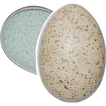 osterei aus keramik ostern osterei ei gro ca 22cm grau braun deko osterdeko gartendeko. Black Bedroom Furniture Sets. Home Design Ideas