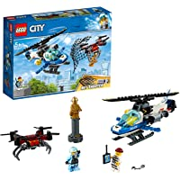 LEGO City Sky Police Drone Chase Building Blocks for Kids (192 Pcs)60207