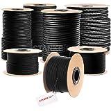 Seilwerk STANKE gevochten touw van polypropyleen ZWART zeilen touw, koord - 14mm, 30m