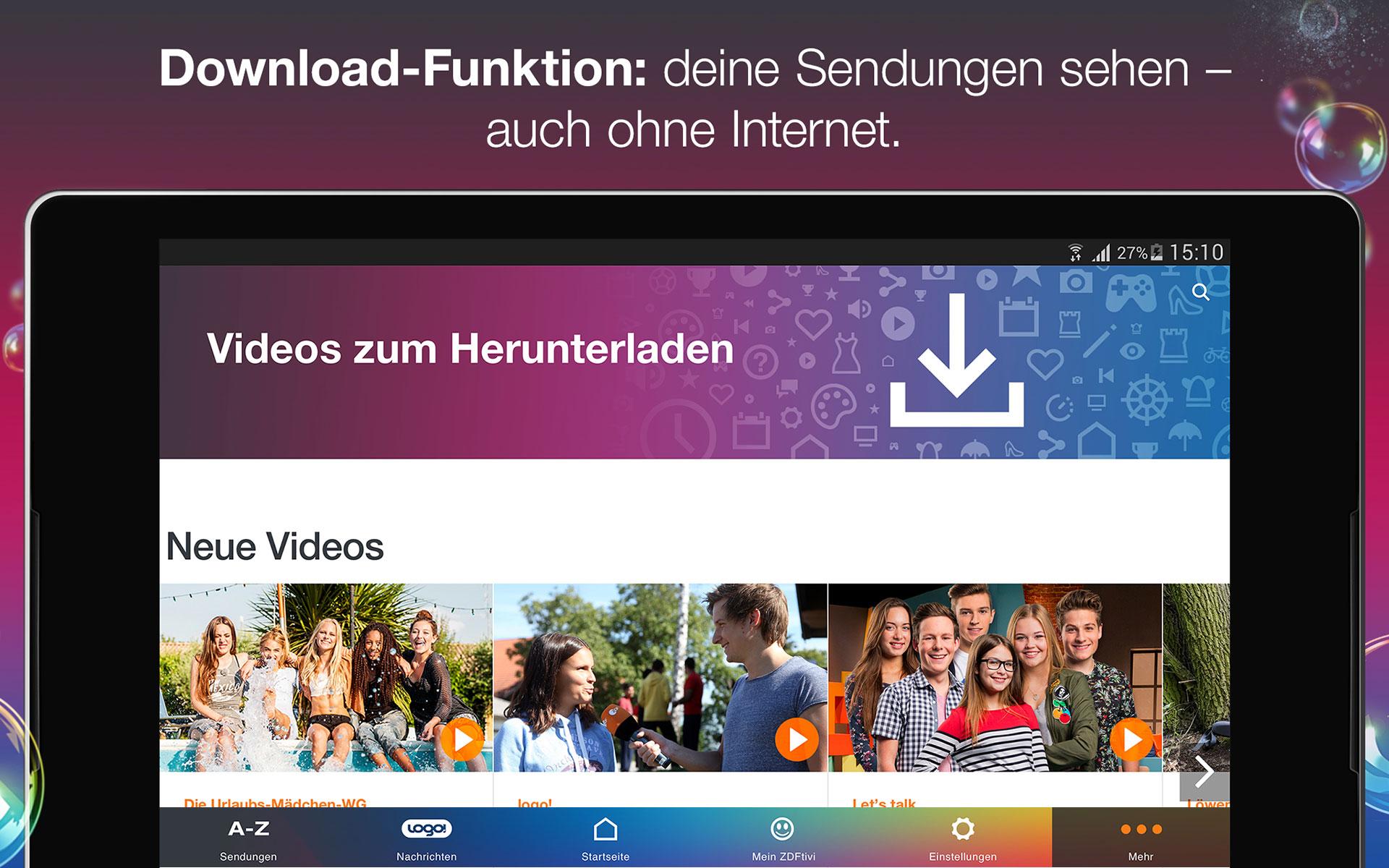 ZDFtivi-App – Videos und Unterhaltung für Kinder: Amazon