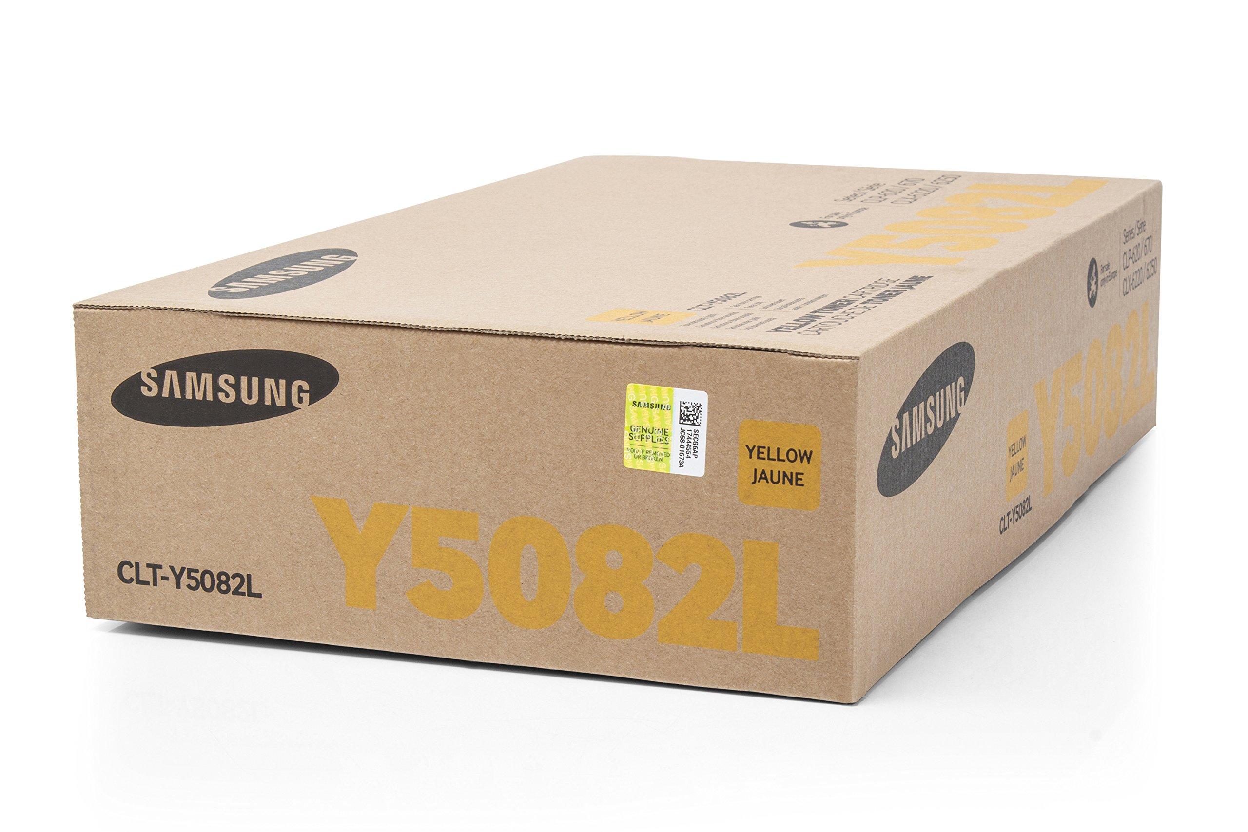 Original XXL Toner compatibile con SAMSUNG CLP 670�Series Samsung Y5082L CLTY5082L, CLT-Y5082L, clt