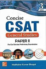 Conscise CSAT General Studies Paper-2 ( 2016 )