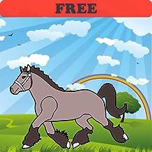Libro para colorear: caballos! GRATIS