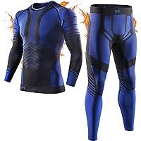 MEETYOO Biancheria Intima Termica Uomo, Intimo Termico Invernale Maglia Termici Pantaloni Base Layer per Sci Corsa…