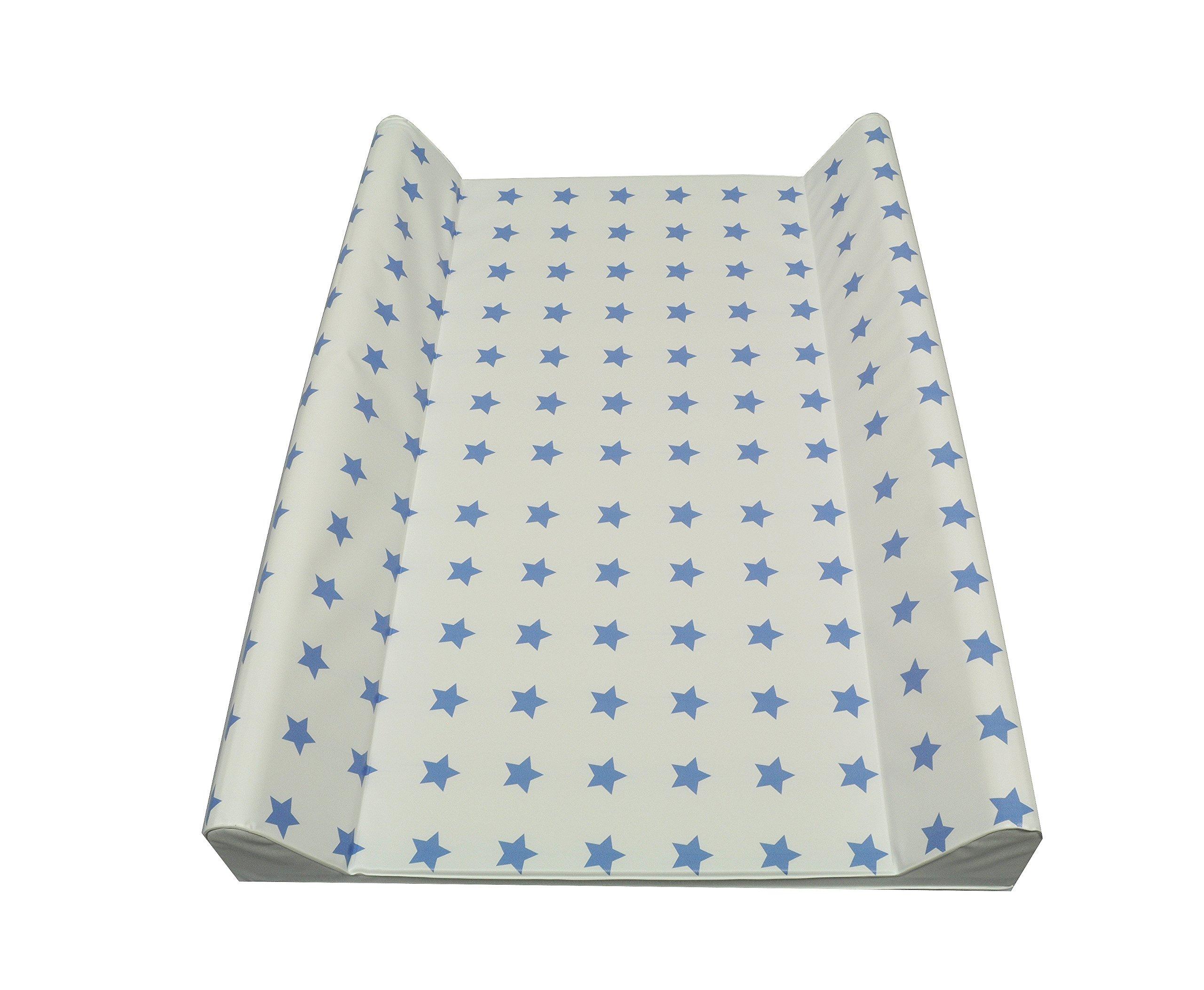 Fasciatoio 50 x 70 cm o 75 x 85 (70 x 50 cm a due a cunei, stelle, blu)