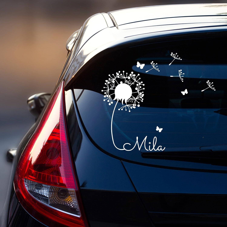 Car Sticker Rear Window Sticker Car Sticker Baby Name Dandelion ...