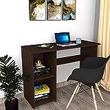 DFC Zeta Engineered Wood Study Desk (Matte Finish, Dark Wenge)